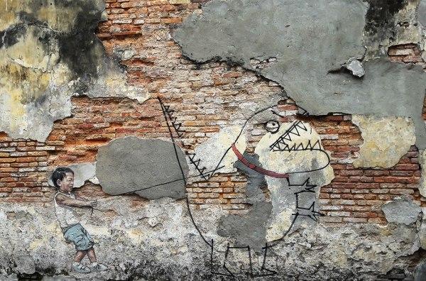 street art in Penang Malaysia