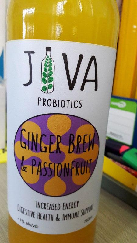 jiva probiotics ginger brew drink