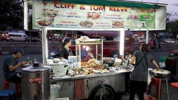 food stall in chiang mai thailand