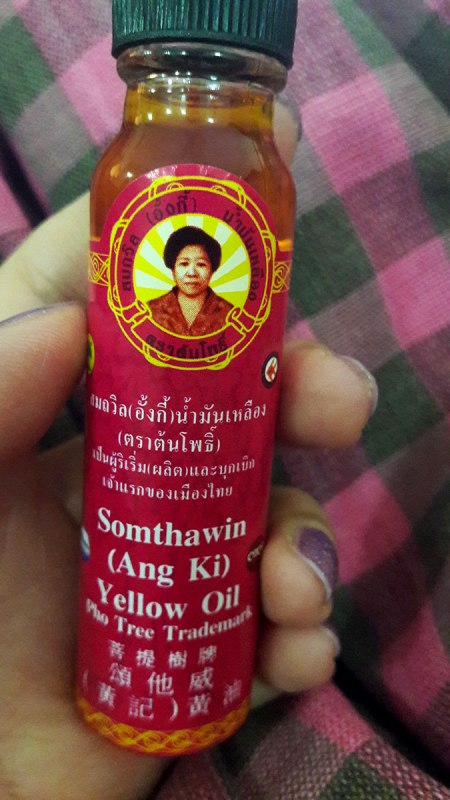 somthawin yellow oil thailand