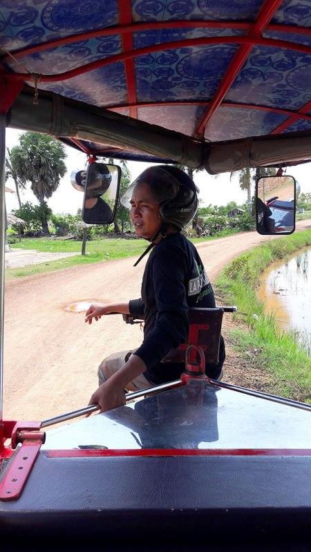 Tuk tuk driver Saavid in Kampot, Cambodia