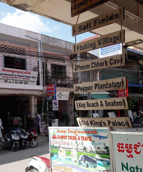 Old Market, Kampot, Cambodia