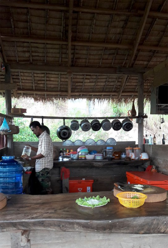 Khmer Root Cafe by Secret Lake, Kampot
