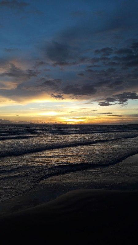 Otres Beach sunset, Cambodia