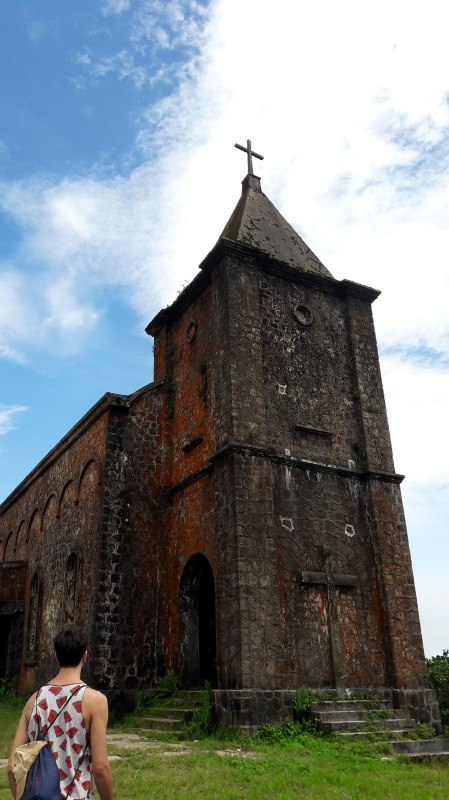 Old church at Bokor Mountain, Kampot, Cambodia