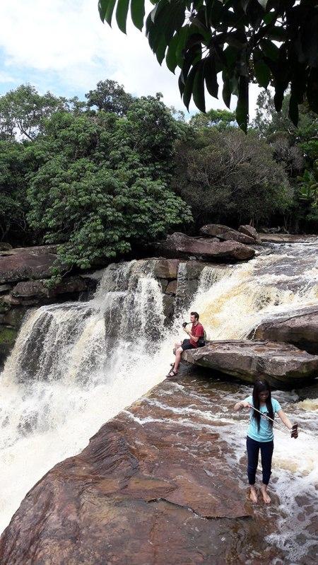 Waterfall at Bokor Mountain, Kampot, Cambodia