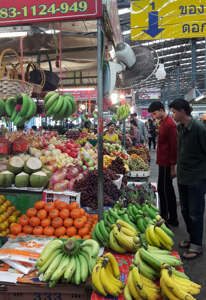 fresh market in Rayong