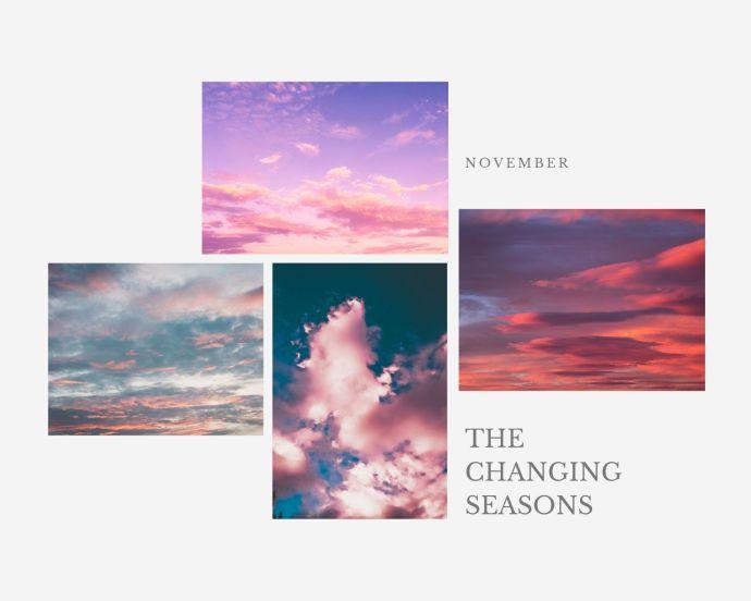 the changing seasons november