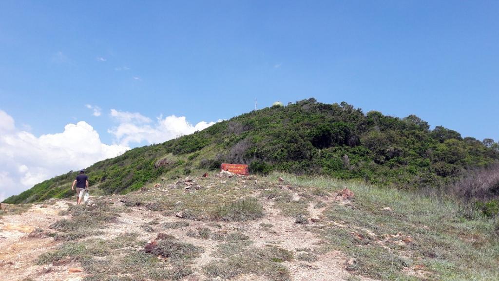 top of Khao Laem