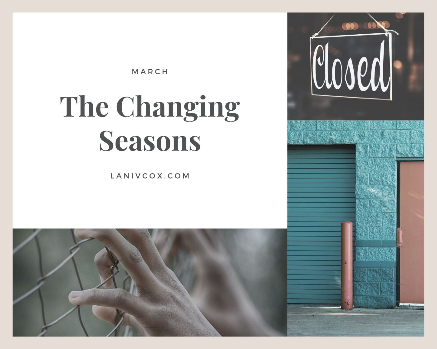 The changing seasons - march 2020