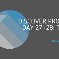 Discover Prompts, Day 27 + 28: Team & Focus